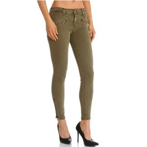 Current/Elliott Soho Zip Stiletto Skinny Jean